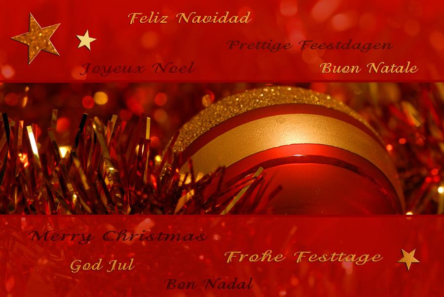 Frohe weihnachten belgisch