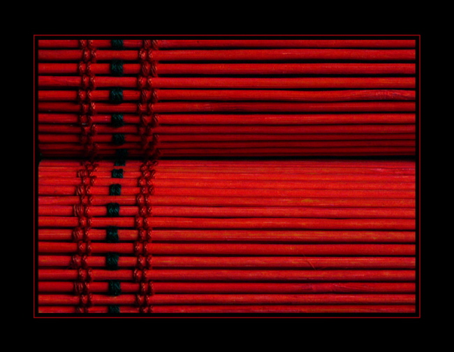 Tabletop - Fauteuil rouge et noir ...